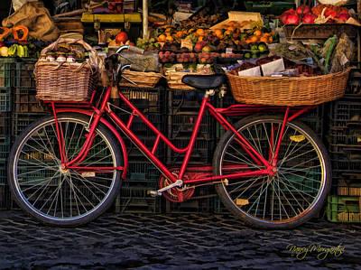 Photograph - Campo Di Fiori Delivery by Nancy Morgantini
