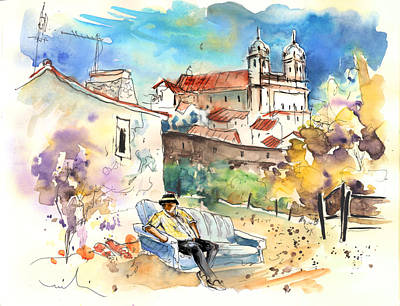 Campo Painting - Campo Maior In Portugal 03 by Miki De Goodaboom