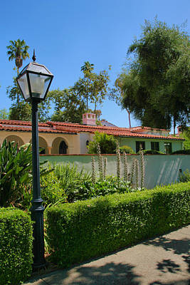 Claremont Colleges Photograph - Campus Scene by Steven Ainsworth