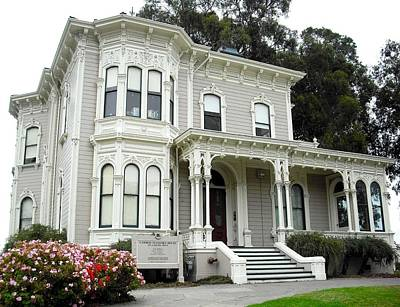 Photograph - Camron Stanford House Oakland by Kelly Manning
