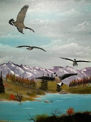 Canada Air Show Art Print