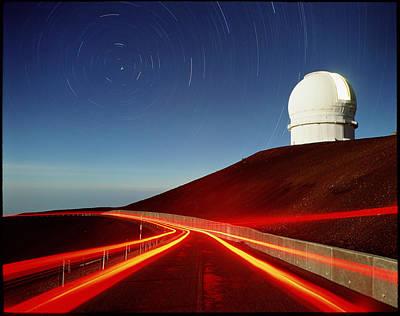 Canada-france-hawaii Telescope Art Print