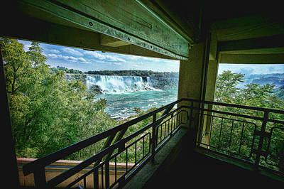 Photograph - Canadian Falls At Niagara Falls by Lawrence Christopher