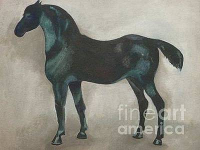 Canadian Heritage Horse 11 Original by Catherine Meyers