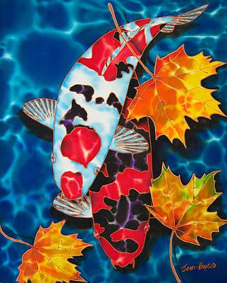 Canadian Koi Art Print by Daniel Jean-Baptiste