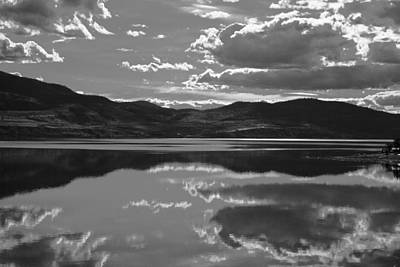 Canadian Lake 1455 Art Print by Larry Roberson