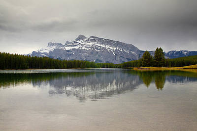 Canadian Lake 1733 Art Print by Larry Roberson