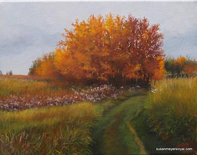 Sinyai Painting - Canadian Landscape by Susan Sinyai