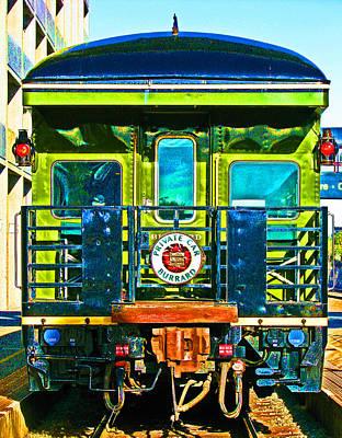 Canadian Pacific Railways Private Car Art Print