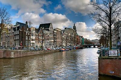 Photograph - Canal. Amsterdam by Juan Carlos Ferro Duque
