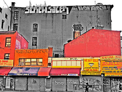 Photograph - Canal And Bway by Bennie Reynolds