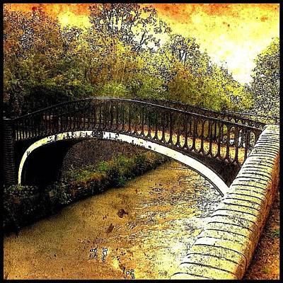 Canal Bridge Art Print