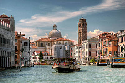 Photograph - Canal Grande. Venezia by Juan Carlos Ferro Duque