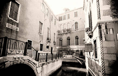Unique Photograph - Canal In Ruskin's Venice by Tom Wurl