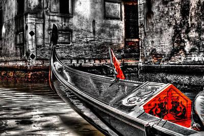 Digital Art - Canal Ride by Greg Sharpe