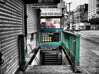 Photograph - Canal Street Station by Bennie Reynolds