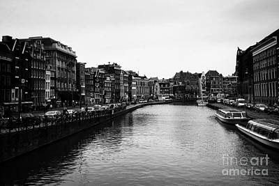 Leda Photograph - Canals Of Amsterdam by Leslie Leda