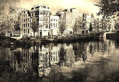 Photograph - Canals Of Amsterdam by Pat Moore