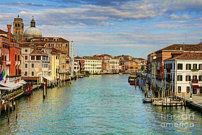 Photograph - Canals Of Venice  by Crystal Nederman