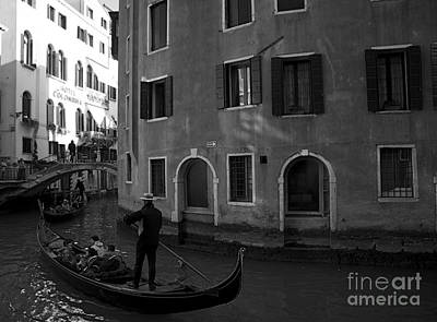 Photograph - Canals Of Venice II by Louise Fahy