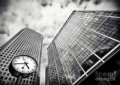 Photograph - Canary Wharf London by Frank Waechter