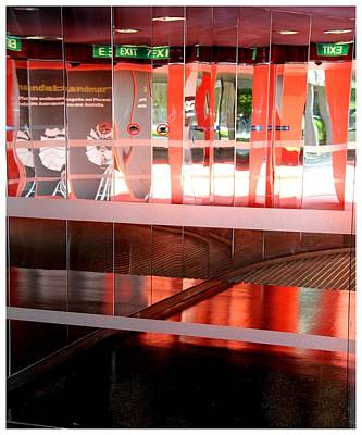Photograph - Canberra National Reflective Exit No 101 by Frank Wickham