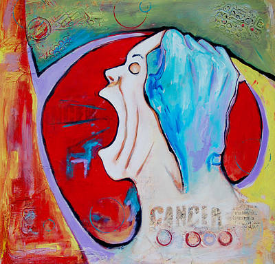 Cance Anger Stager Original by Claudia Fuenzalida Johns