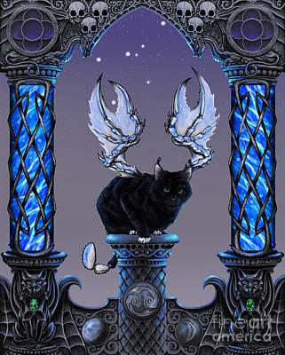 Zodiac Digital Art - Cancer by Stanley Morrison