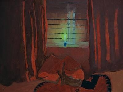 Imitation Painting - Candle Light by Rahul narasimhan