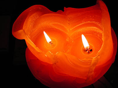 Art Print featuring the photograph Candle Photo by Colette V Hera  Guggenheim