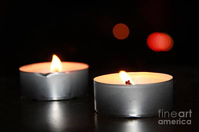 Photograph - Candles  by Lee Dos Santos