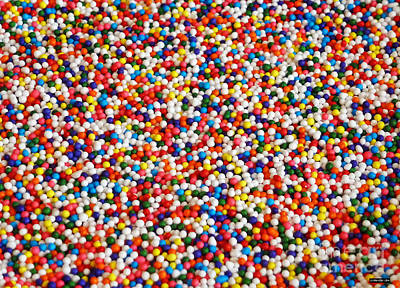 Photograph - Candy Balls by Methune Hively
