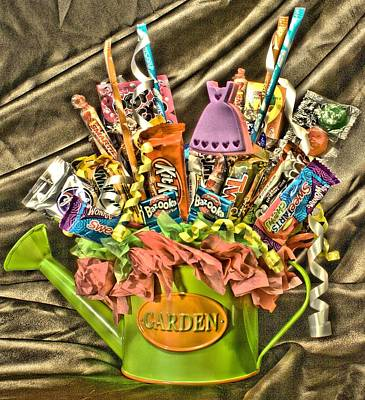 Photograph - Candy Bouquet 2 by Lynnette Johns