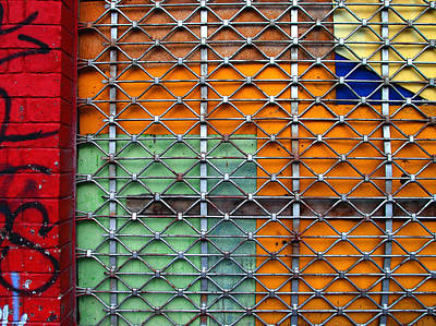 Photograph - Candy Cage by Skip Hunt