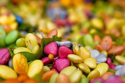 Candy Flowers Art Print