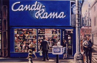 Painting - Candy Rama  by James Guentner