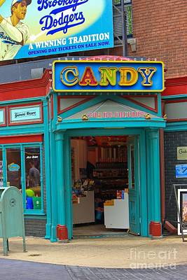 Candy Store Art Print by Sophie Vigneault