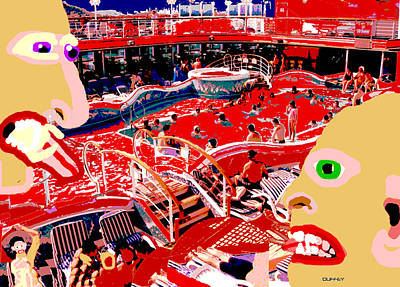Photograph - Cannibal Cruise Lines by Doug Duffey