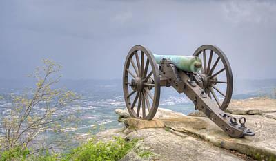 Cannon 2 Art Print by David Troxel