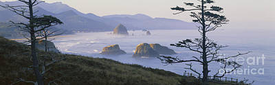 Photograph - Cannon Beach by Chromosohm Media Inc and Photo Researchers