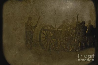 World War 2 Action Photography - Cannon  by Kim Henderson