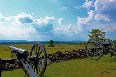 Cannons Art Print by Justin Mac Intyre