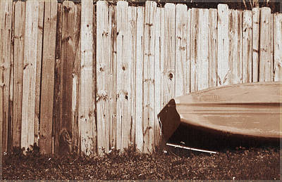 Photograph - Canoe by Ginny Schmidt