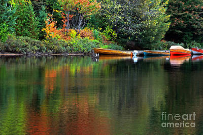 Photograph - Canoe Lake by Charline Xia