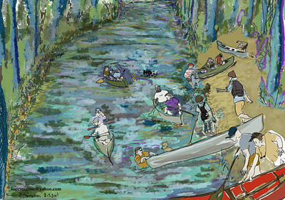 Canoe Race Original