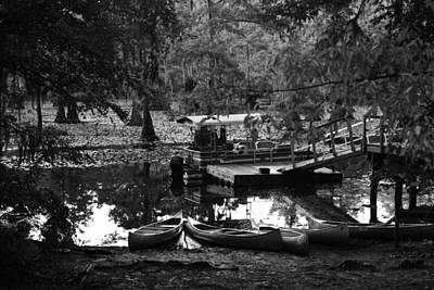 Photograph - Canoes For Rent by Snow  White