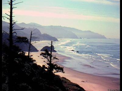 Mixed Media - Canon Beach Oregon by Bruce Ritchie
