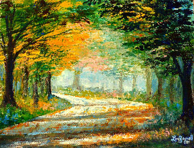 Painting - Canopy Road by Lou Ann Bagnall