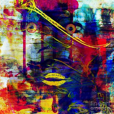 Can't Even Begin To Tell It Art Print by Fania Simon