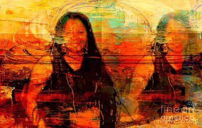 Yesayah Mixed Media - Can't Split Me In Two by Fania Simon